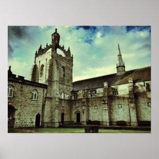 Kings College, Aberdeen Poster