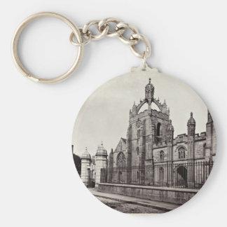 King's College - Aberdeen University - Vintage Basic Round Button Keychain