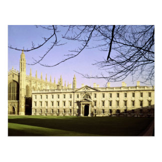 King's College and Chapel, Cambridge, England Postcard