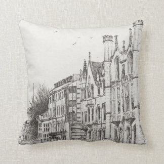 Kings College Cambridge 2007 Throw Pillow