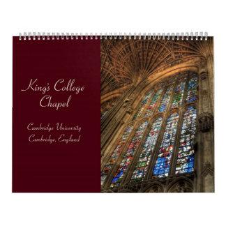 King's College Chapel 2010 Calendar