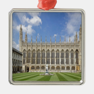 Kings College Chapel Metal Ornament