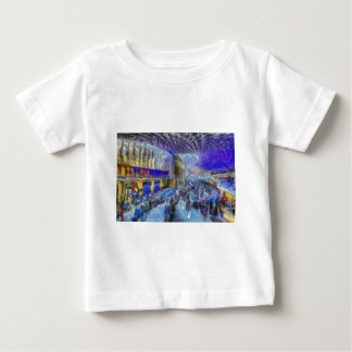 Kings Cross Rail Station London Art Baby T-Shirt
