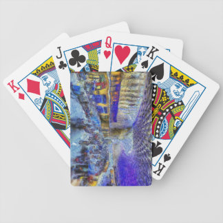 Kings Cross Rail Station London Art Bicycle Playing Cards