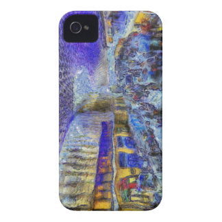 Kings Cross Rail Station London Art iPhone 4 Case