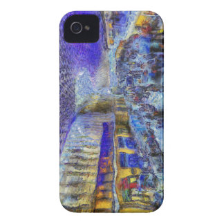 Kings Cross Rail Station London Art iPhone 4 Case-Mate Case