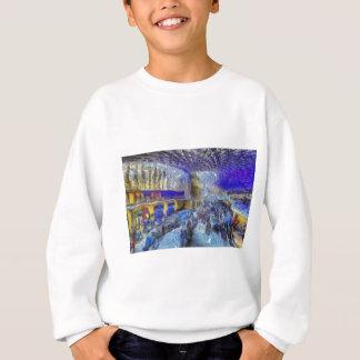 Kings Cross Rail Station London Art Sweatshirt