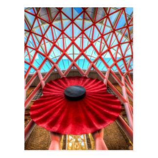 Kings Cross Station London Poppy Postcard
