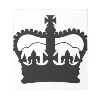 King's Crown Notepad