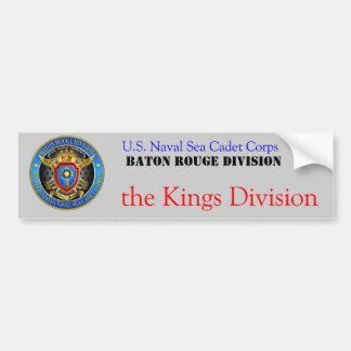 KINGS DIVISION TREASURES............... BUMPER STICKER