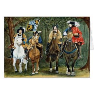 Kings Horses Card