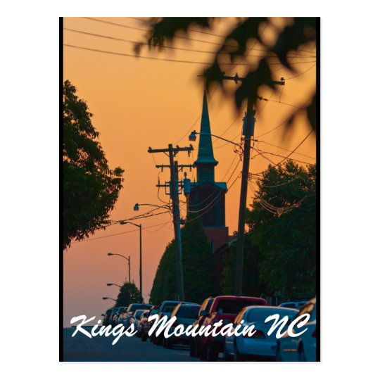 kings mountain nc postcard