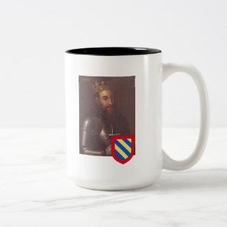 Kings of Portugal 2, Sancho I Two-Tone Coffee Mug