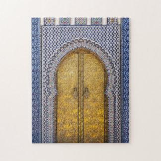 King'S Palace Ornate Doors Jigsaw Puzzle