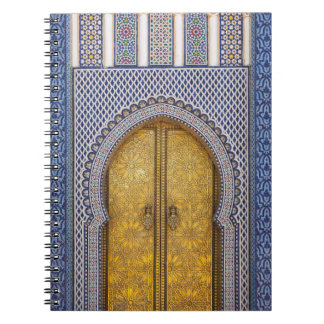 King'S Palace Ornate Doors Notebook