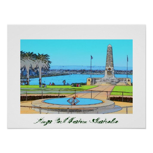 Kings Park Western Australia by Artpics4Me Poster