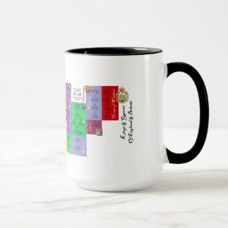 Kings & Queens of England & Britain Mug