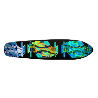 kings custom skate board