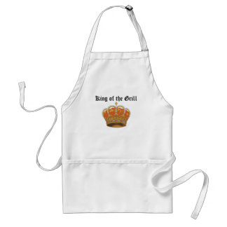 king'sCrown, King of the Grill Standard Apron
