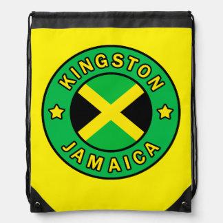 Kingston Jamaica Drawstring Backpacks