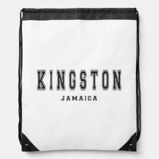 Kingston Jamaica Drawstring Bags