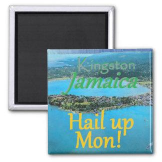 KINGSTON Jamaica Square Magnet