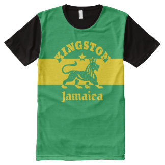 Kingston Jamaica Vintage Rasta Lion