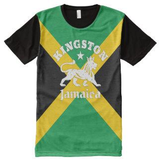 Kingston Rastafari Lion on Jamaican Flag