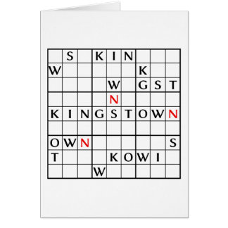 KINGSTOWN CARD