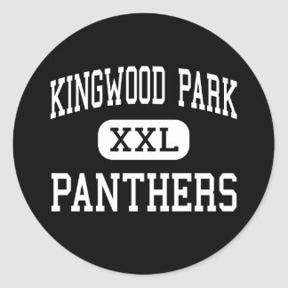 Kingwood Park - Panthers - High - Kingwood Texas Classic Round Sticker