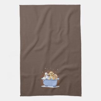 KiniArt Bath Doods Kitchen Towel