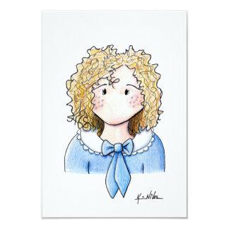KiniArt Curly Girl Card