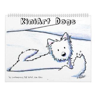KiniArt Dogs Calendar