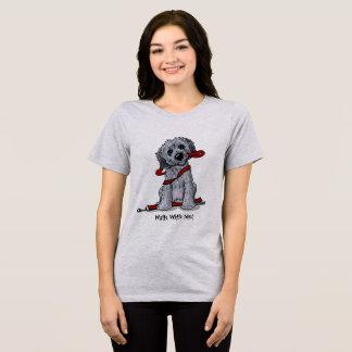 KiniArt Doodle Black and Grey T-Shirt