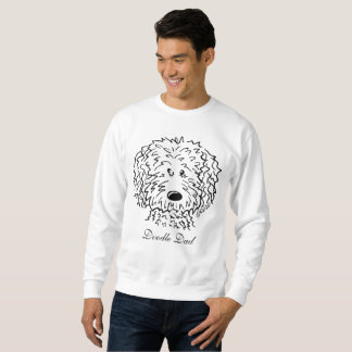 KiniArt Doodle Custom Text Sweatshirt