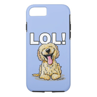 KiniArt Doodle Dog LOL iPhone 8/7 Case