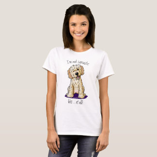 KiniArt Doodlemoji Winking Doodle T-Shirt