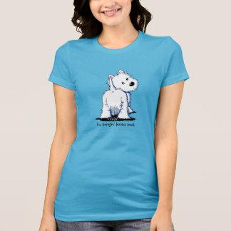 KiniArt Fluffybutt Westie T-Shirt