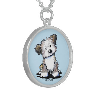 KiniArt Havanese Sterling Silver Necklace