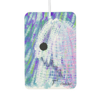 KiniArt Old English Sheepdog Car Air Freshener