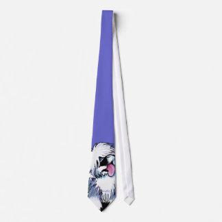 KiniArt Old English Sheepdog Neck Tie