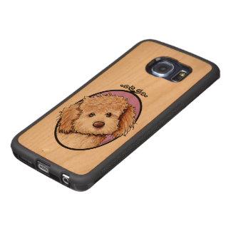 KiniArt Phantom Doodle Wood Phone Case
