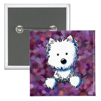 KiniArt Pocket Westie Pin