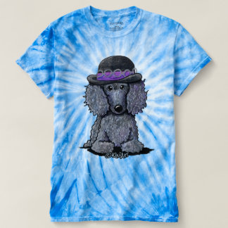 KiniArt Poodle Hendrix T-shirt
