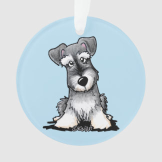 KiniArt Schnauzer Ornament