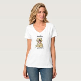 KiniArt Smiling Doodle T-Shirt