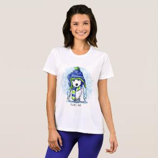KiniArt Snowy Westie T-Shirt