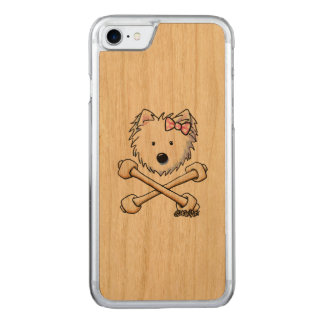 KiniArt Torrid Westie Diva Carved iPhone 8/7 Case