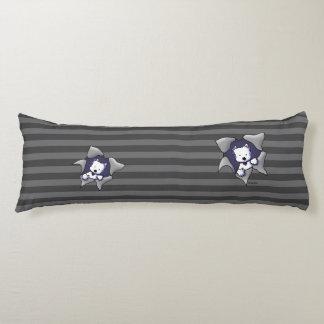 KiniArt Westie BLAST Body Pillow