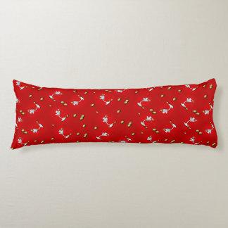 KiniArt Westie Martini Body Pillow